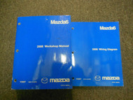 2008 Mazda 6 Mazda6 Service Repair Shop Manual 2 VOLUME SET FACTORY OEM BOOK 08