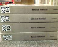 2013 GM BUICK REGAL Service Shop Repair Workshop Manual Set FACTORY Brand New