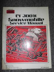 Yamaha CF300K Snowmobile Service Shop Repair Manual OEM FACTORY CF 300 K x