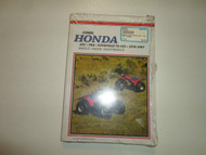 1970 1987 Clymer Honda ATC TRX FOURTRAX 70-125 Service Maintenance Manual NEW