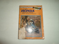1979 1982 Clymer Honda CB650 FOURS Service Repair Maintenance Manual DAMAGED