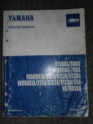 Yamaha VT MM VX XT 500A 600A 700A Snowmobile Service Repair Manual OEM FACTORY x