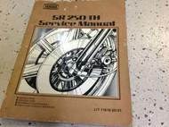 Yamaha SR250G Service Shop Repair Manual SR250TH SUPP 2 IN 1 Manual FACTORY x