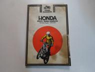 1970 1972 Clymer Honda 100 250cc Singles Service Repair Handbook Manual DAMAGED