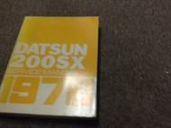 1978 Datsun Nissan 200SX Service Repair Shop Workshop Manual FACTORY OEM