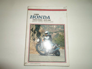 1979 1982 Clymer Honda CB650 FOURS Service Maintenance Manual STAIN WORN 1ST EDI