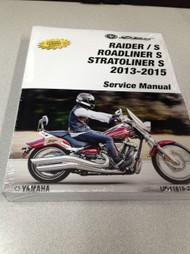 2015 YAMAHA RAIDER Models STRATOLINER ROADLINER Models Service Shop Manual OEM