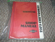 1979 Chevrolet Chevy CORVETTE Service Repair Shop Manual Factory W EWD Brand New