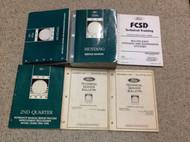 1998 98 Ford MUSTANG Gt Cobra Mach Service Shop Repair Manual Set W EVTM + OEM