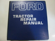 1960s 1970s Ford Tractor Service Repair Shop Manual Factory OEM Book Used Rare