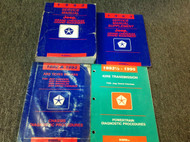 1993 JEEP GRAND CHEROKEE & GRAND WAGONEER Shop Service REPAIR Manual Set W DIAGN