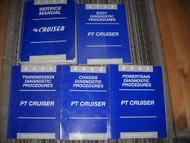 2002 CHRYSLER PT CRUISER Repair Shop Service Manual Set W Diagnostics OEM Mopar