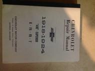 1918 1919 1920 1921 1922 1923 1924 CHEVY Chevrolet Service Repair Shop Manual x