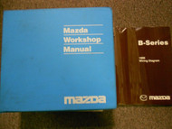 1999 Mazda B-Series Truck Service Repair Shop Workshop Manual Set W EWD OEM
