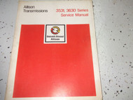 DETROIT DIESEL ALLISON TRANSMISSION 3531 3630 SERIES Service Shop Repair Manual