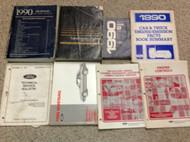 1990 Ford Mustang Gt Cobra Service Shop Repair Workshop Manual Set OEM W LOTS x