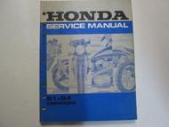 1991 1992 1993 1994 Honda CBR600F2 Shop Service Repair Manual FACTORY NEW Book