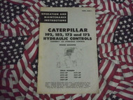 Caterpillar Hydraulic Control Operation Manual 192 182