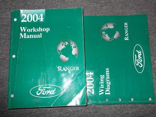 2004 Ford Ranger Truck Service Shop Repair Workshop Manual
