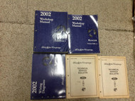 2002 Ford RANGER TRUCK Service Shop Repair Workshop Manual Set W EWD & Bulletins
