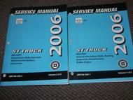 2006 Chevy Chevrolet SSR S/T ST TRUCK Service Shop Repair Manual Set FACTORY OEM