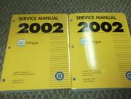 2002 Oldsmobile INTRIGUE Service Shop Repair Workshop Manual Set FACTORY NEW GM