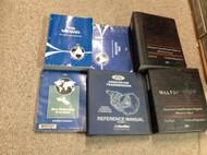 1996 Ford Mustang Gt Cobra Service Shop Manual Set OEM W EVTM PCED TRANS + 1996