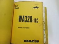 KOMATSU WA320 1LC WHEEL LOADER Service Shop Repair Manual Binder Set FACTORY OEM