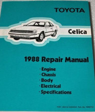 1988 TOYOTA CELICA Service Repair Workshop Shop Manual OEM 88 FACTORY