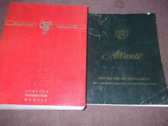 1990 90 Cadillac Allante Service Shop Repair Manual SET W Supplement OEM GM Book