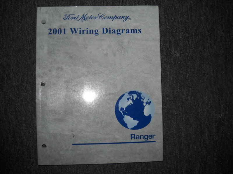 2001 Ford Ranger Truck Electrical Wiring Diagrams Service
