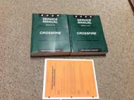 2004 CHRYSLER MOPAR CROSSFIRE Service Shop Repair Workshop Manual Set W Bulletin