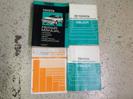 1989 Toyota Celica Service Repair Shop Manual Set W EWD & AC + COLLISION Book x