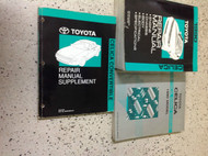 1990 Toyota Celica Service Repair Shop Manual Set W EWD & CONV SUPPLEMENT OEM