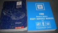 1988 Buick Regal Service Shop Repair Manual Set OEM 88 W FISHER BODY BOOK