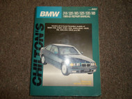 1989 90 91 92 1993 BMW Chiltons 318 325 M3 525 535 M5 Service Repair Manual x