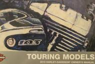 2015 Harley Davidson TOURING MODELS Factory Owner's Operators Manual NEW 2015
