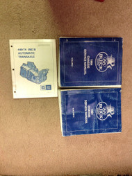1984 Buick All Models Chassis Service Repair Shop Manual 2 Volume Set W Transaxl