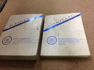 1995 CADILLAC FLEETWOOD Service Shop Repair Workshop Manual Set FACTORY Worn