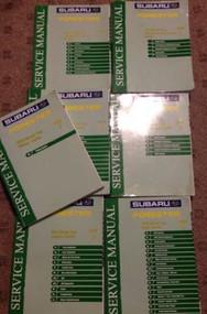 2003 Subaru Forester Service Repair Shop Workshop Manual Set OEM 2003 Dealership