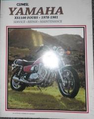1978 1979 1980 1981 Clymer Yamaha XS1100 FOURS Service Repair Manual BOOK NICE X
