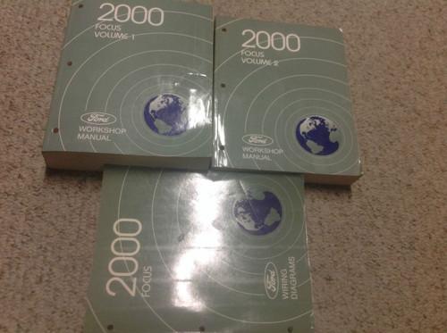 2000 Ford Focus Service Repair Shop Manual Set W