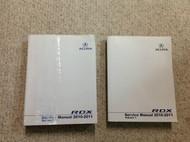 2010 2011 Acura RDX Service Repair Shop Workshop Manual Set OEM Dual Years
