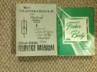 1970 Oldsmobile F85 CUTLASS 442 VISTA DELTA TORNADO 88 Service Shop Manual SET