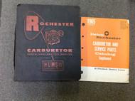 1930 40S 50S 60S 65 GM Rochester Carburetor Parts & Service Manual Cars & Trucks