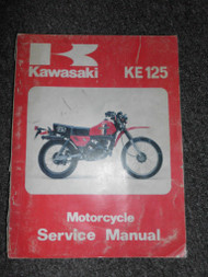 1978 1979 1980 1981 1982 Kawasaki KE125 Service Repair Shop Workshop Manual OEMx