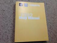 1982 Chevrolet Chevy CORVETTE Service Repair Shop Manual FACTORY Brand New GM