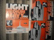 1982 Ford F&B 700 800 900 Truck Service Shop Repair Workshop Manual Set OEM 82