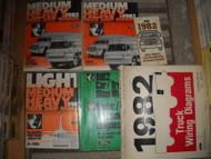 1982 Ford Medium Heavy Duty Truck Service Shop Repair Workshop Manual Set W EWD