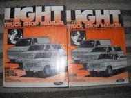 1982 Ford Truck Bronco F 100 150 350 BRONCO Service Shop Manual Set W PRE DEL